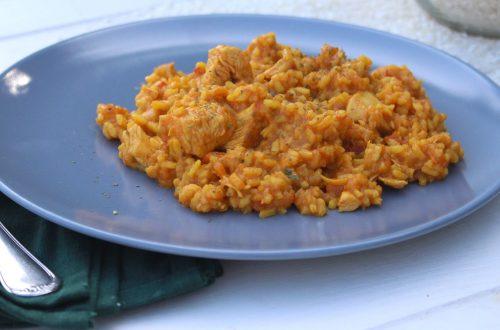 Arroz con pollo en Mambo de Cecotec