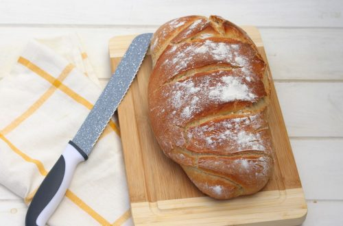 Receta de pan casero fácil
