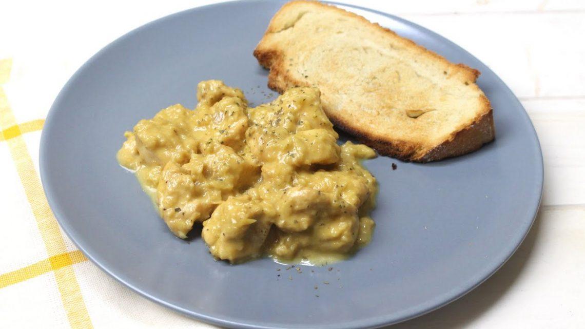 Pollo en salsa de miel y mostaza con Thermomix