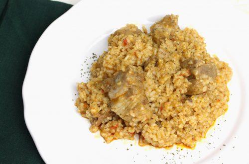 Receta de arroz con costilla de cerdo en MyCook Touch