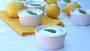 Mousse rápida de limón en Mambo