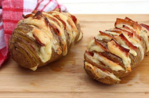Receta de patatas Hasselback