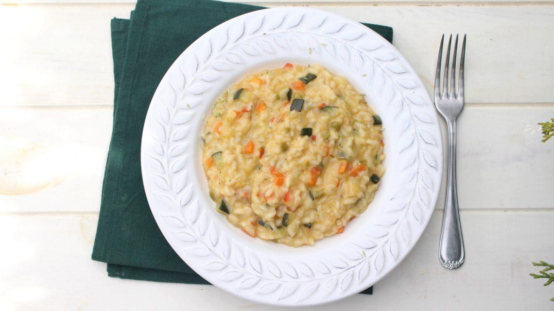 Receta de risotto de verduras en Mambo