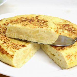 Tortilla de patata en Thermomix