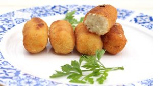 Receta de croquetas de pollo en Mambo