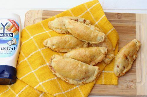 Receta de empanadillas de pollo al Roquefort