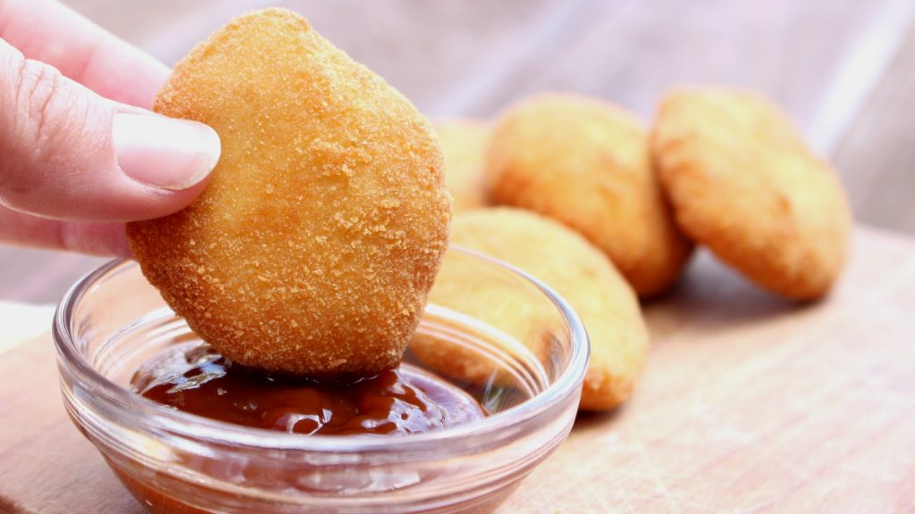 Nuggets de pollo caseros con Mambo