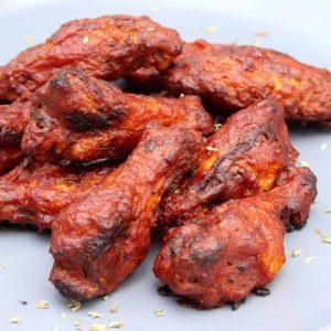 Receta de alitas de pollo picantes o buffalo wings