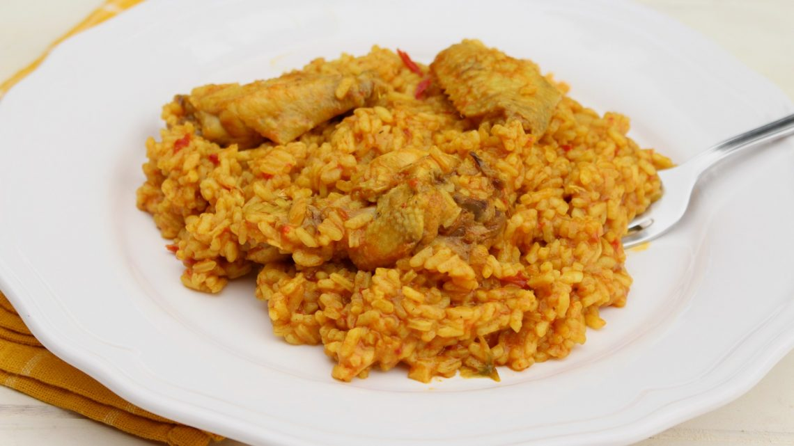 Receta de arroz con pollo al curry en Mambo