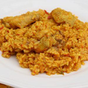 Receta de arroz con pollo al curry en Mambo