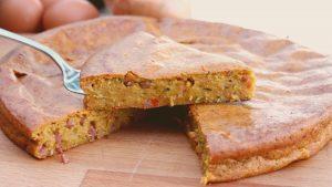 Receta de pastel de verduras en Thermomix