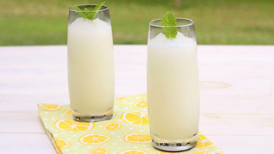 Receta de granizado de limón con Mambo