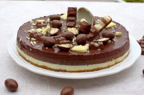Receta de tarta mousse de 3 chocolates en Mambo