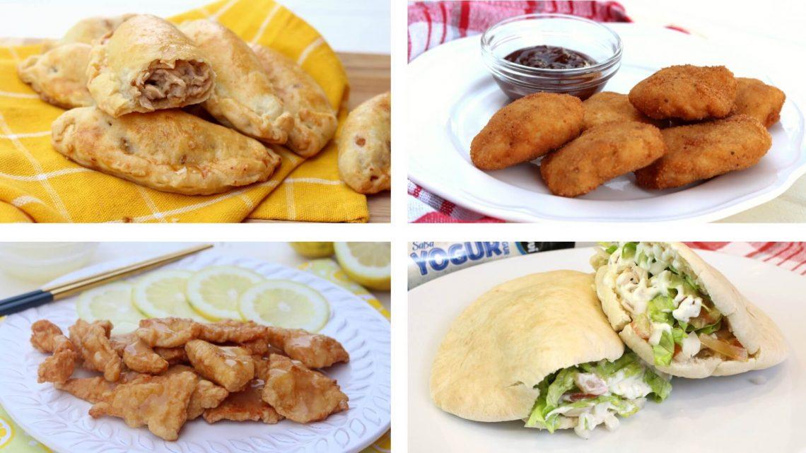 4 recetas con pollo fáciles y deliciosas