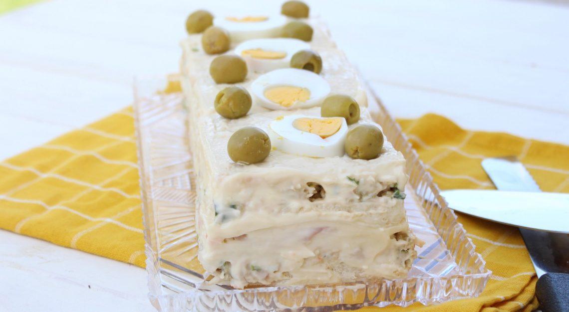 Pastel salado de verano con Thermomix