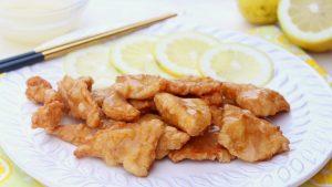 Receta de pollo al limón al estilo chino