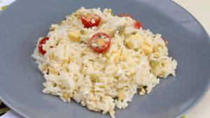 Receta de ensalada de arroz con Thermomix