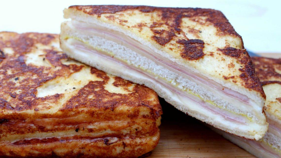 Receta de sandwich montecristo