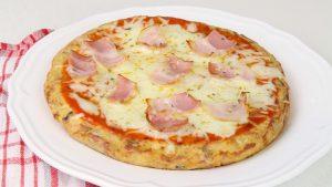 Receta de tortilla pizza