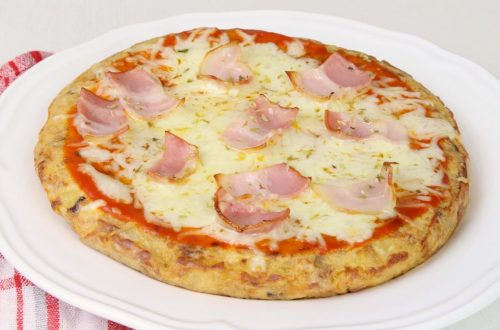 Receta de tortilla pizza