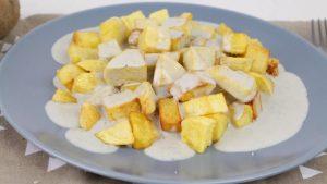 Receta de patatas al cabrales en Mambo
