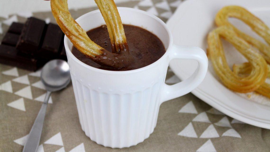 Receta de chocolate a la taza con Thermomix