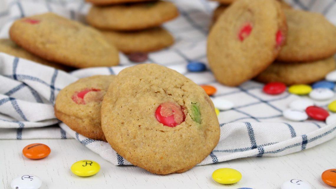 Receta de cookies de lacasitos con Thermomix