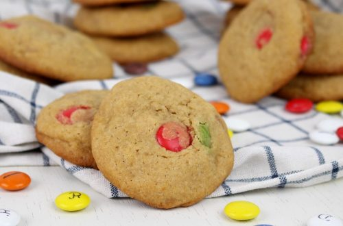 Receta de cookies de lacasitos con Thermomix