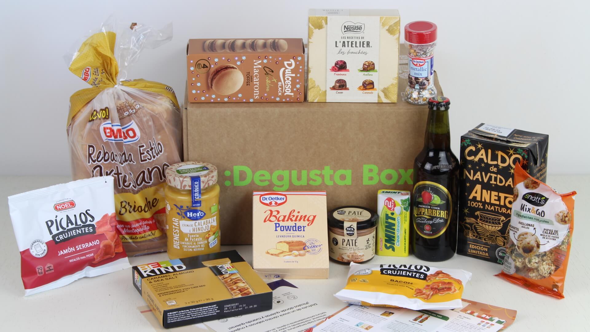 Degustabox Noviembre 2020