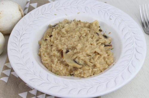 Receta de risotto de champiñones con MyCook Touch