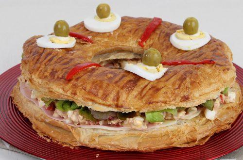 Receta de roscón salado fácil y económico