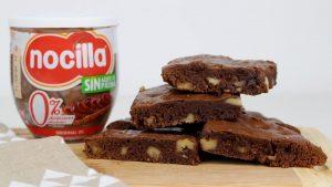 Receta de brownie de Nocilla en Thermomix