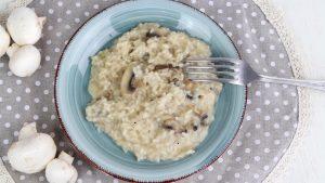 Receta de risotto de champiñones en Mambo