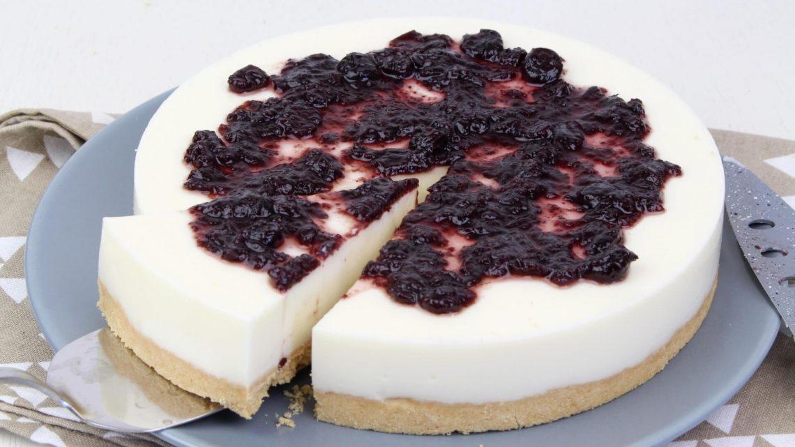 Receta de tarta de queso sin horno con Thermomix
