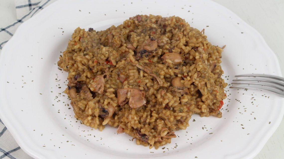 Receta de arroz con chipirones en Mambo