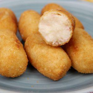 Receta de croquetas de salchichas en Mambo