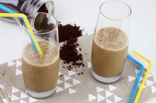 Receta de frappé de café con Thermomix