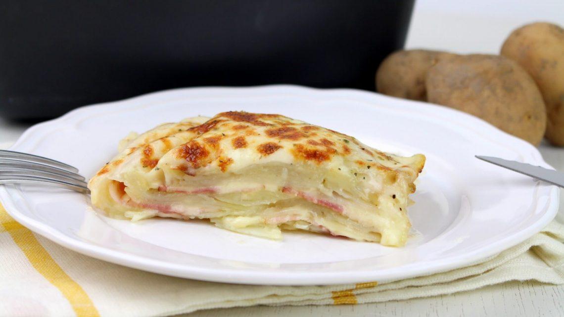 Receta de pastel de patata y bacon